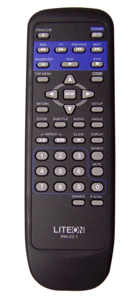 Lite-on LVD-2002 Remote Control