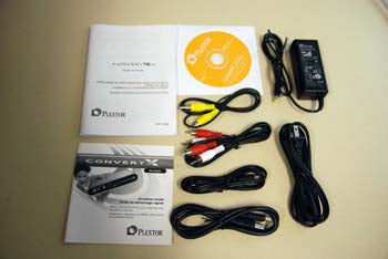 Accessory Kit for Plextor ConvertX PVR model PX-TV402U