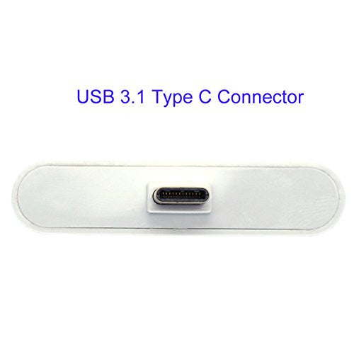 CyberTech USB 3.1 Type C OTG Adapter,3-in-1 USB OTG/TF/SD Smart Card Reader Adapter with Type C Charging Port for Apple New MacBook 12 inch, Nexus 5X/6P,Cell Phone and Other Supported Type C Device