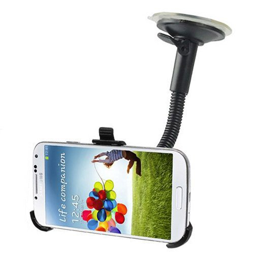 CyberTech Car Windshield / Dashboard Suction Mount For Samsung Galaxy S4 i9500