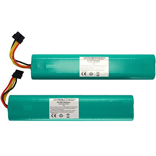 CyberTech NiMh Battery Pack for Botvac Series 70e 75 80 85 vacuum and Botvac D Series D75 D80 D85 Robots (2 Packs)