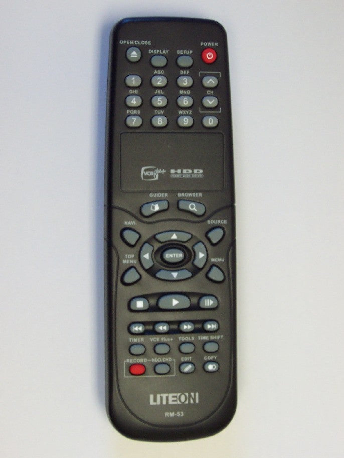 Lite-on LVW-5045 Remote Control