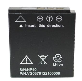 LI-ION BATTERY NP-40 FOR HP PB360T & SB360 DIGITAL STILL CAMERA