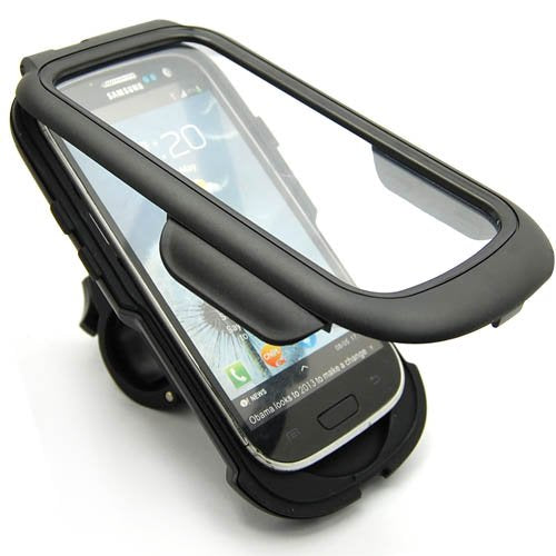 Heavy Duty Weather Proof Sport Bike Mount Holder Hard Shell Case for Samsung GALAXY S3 / S III (i9300, i515, i747, L710)
