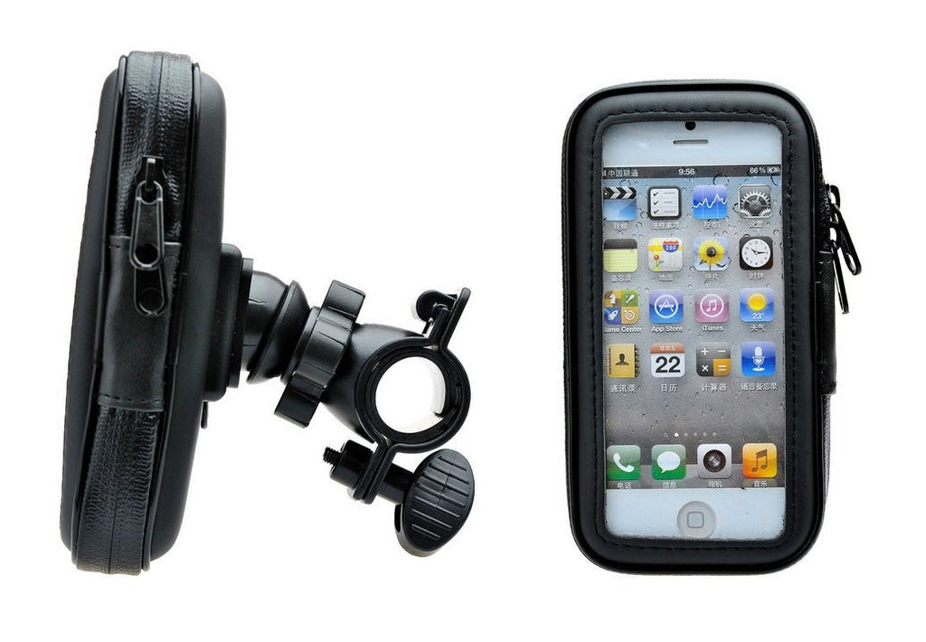 CyberTech Waterproof Bike Sport Mount Case for Apple iPhone 5S 5C 5