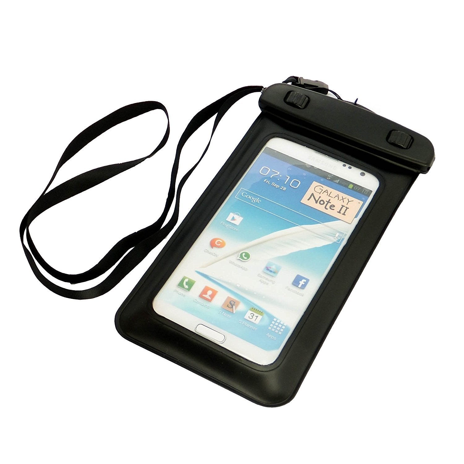 CyberTech 20 ft Waterproof Pouch for Samsung S2 S3 Apple iPhone 5S 5C 5S