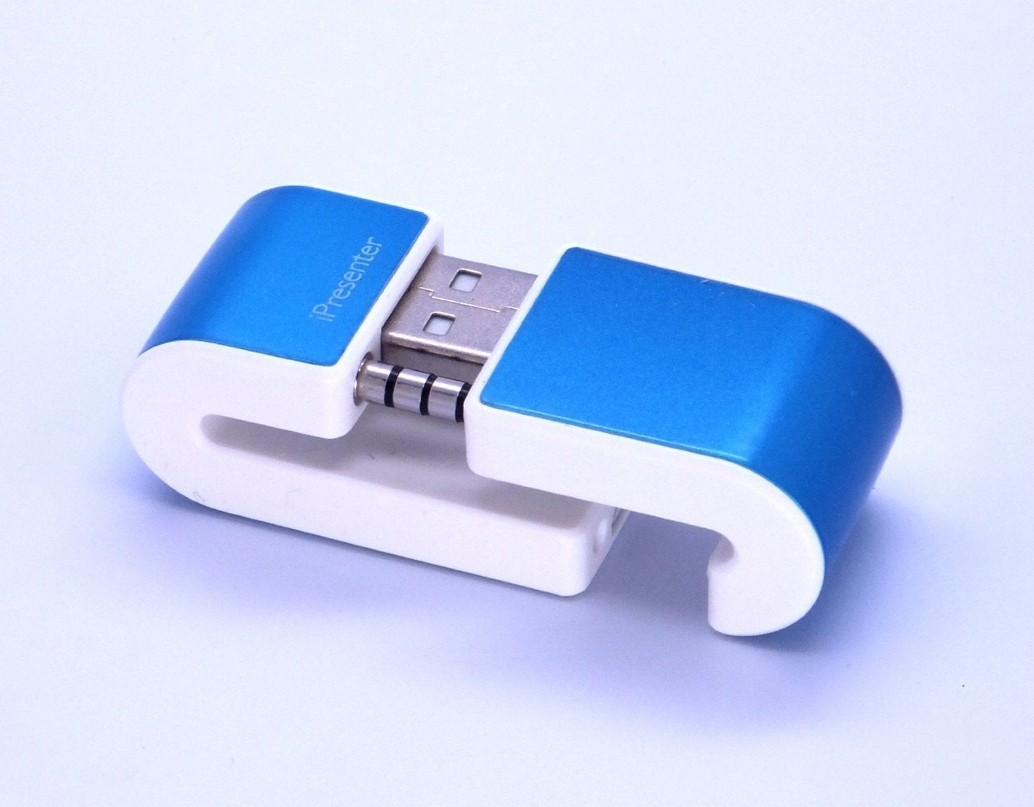 CyberTech iPresenter Wireless Presenter Remote/ Air Mouse for iPhone 4/5, Free App download, Compact Size,