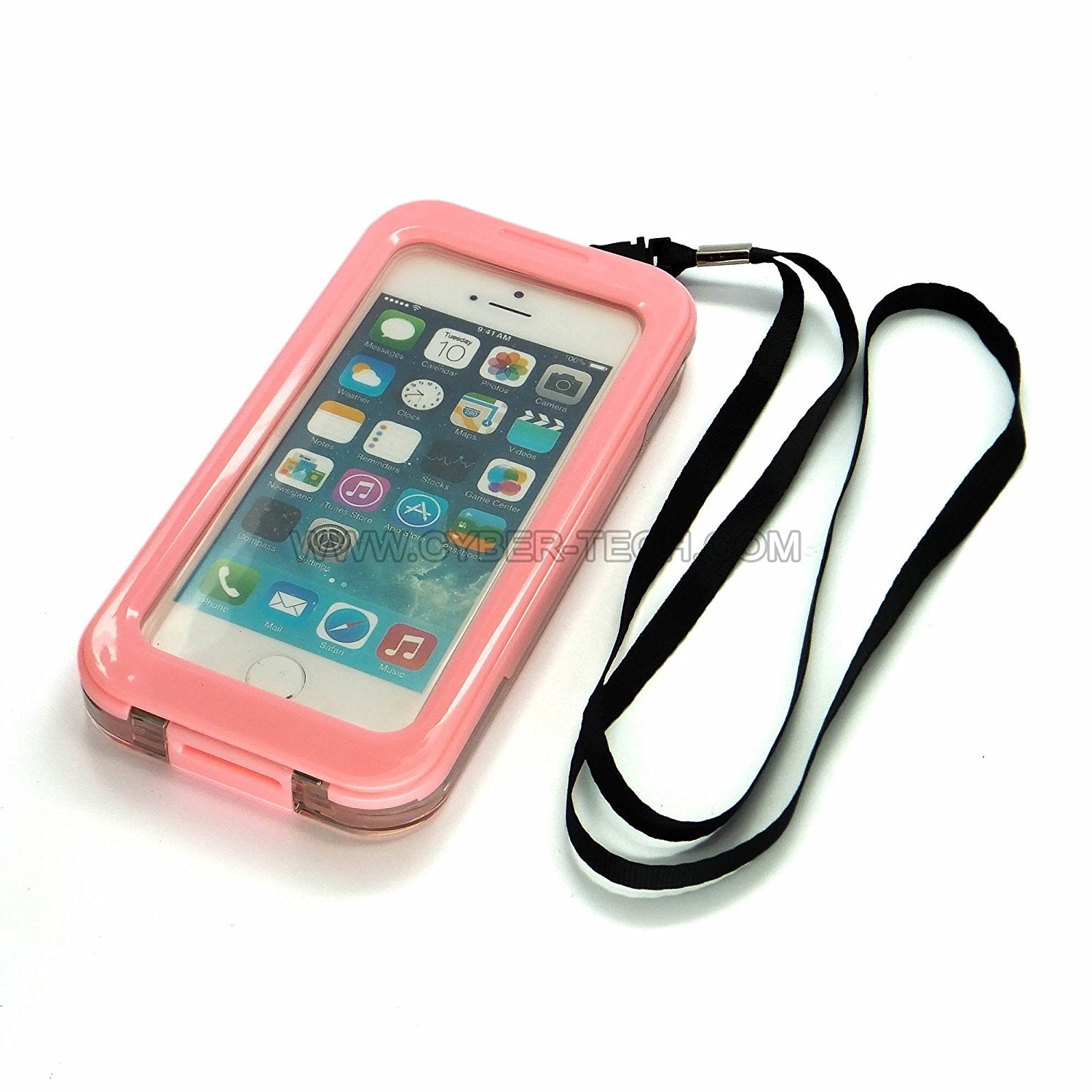 Waterproof case for iPhone 5C (Pink)