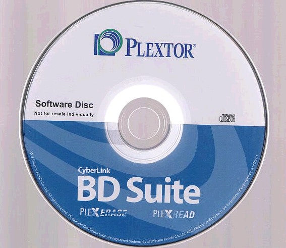 Installation Disc for Plextor PX-B320SA