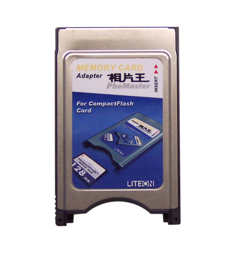 PCMCIA Compact Flash memory adaptor for Lite-on LVR-1001