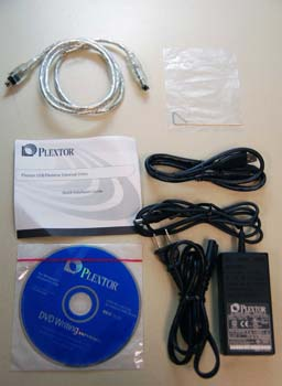 Accessory Kit for Plextor PX-755UF USB/Firewire External Drive