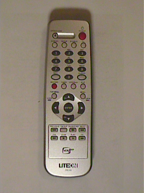 Lite-on LVW-1105GHC, LVW-5115GHC+  and DD-A100G Remote Control