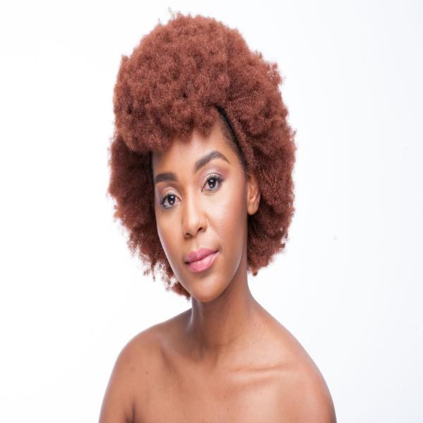 340 Colour Synthetic 14 inch Afro Wig