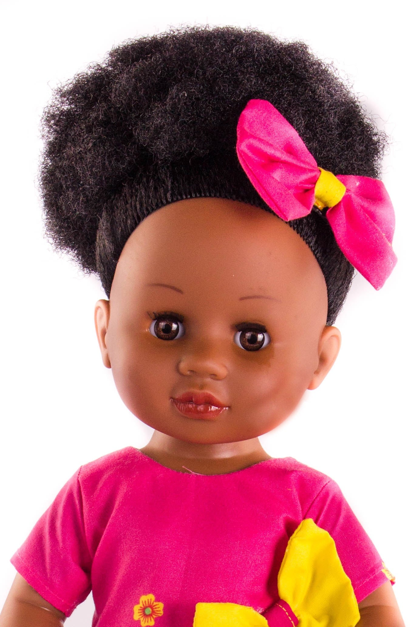 Nobuhle Princess Doll (50cms) - Dressed in Pink
