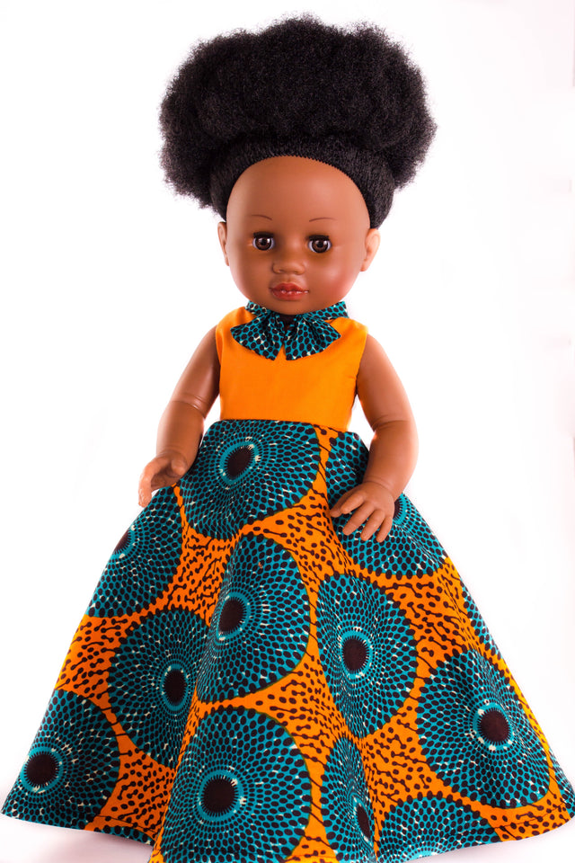 Dress for Nobuhle Doll (Dress Only) - Long Dress