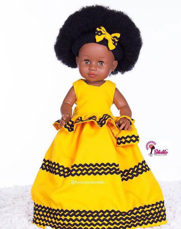 Dress for Nobuhle Doll (Dress Only) - Xhosa Princess Dress