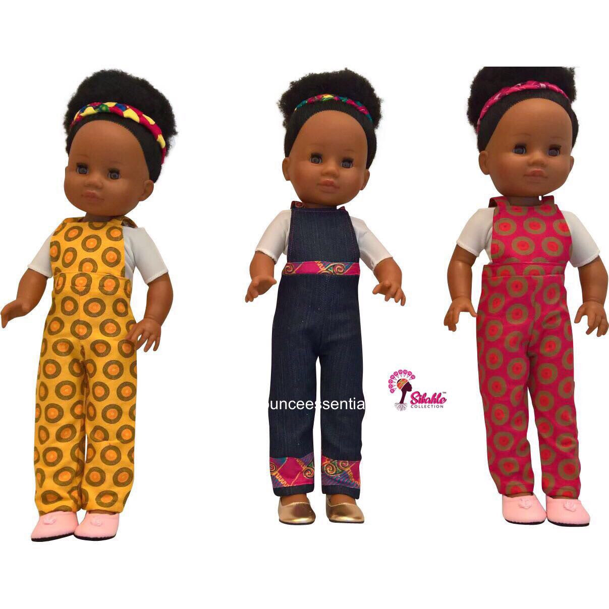 Jumpsuits For Nobuhle Doll (Jumpsuit Only)