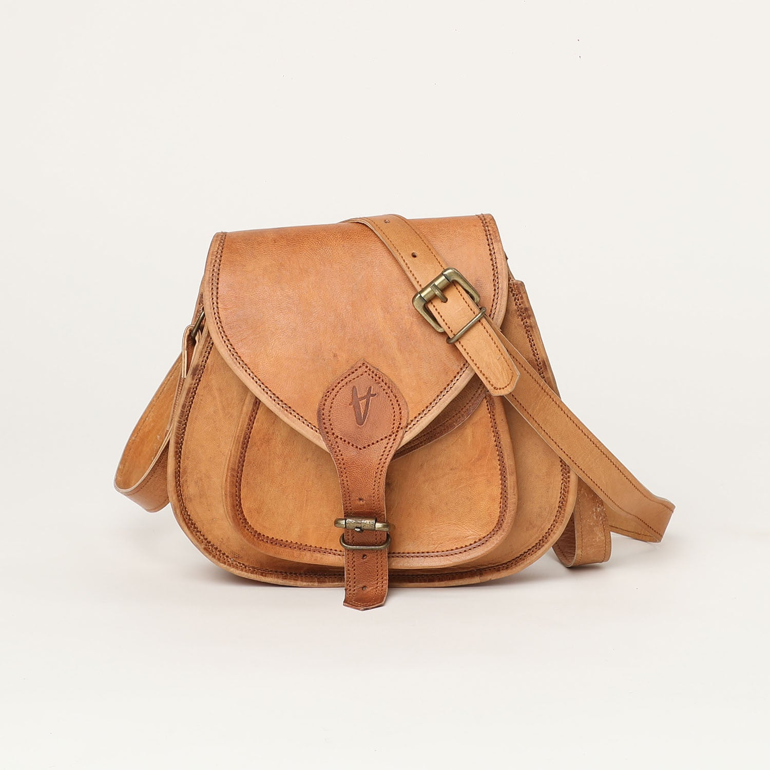Cross body bag medium - leather bags