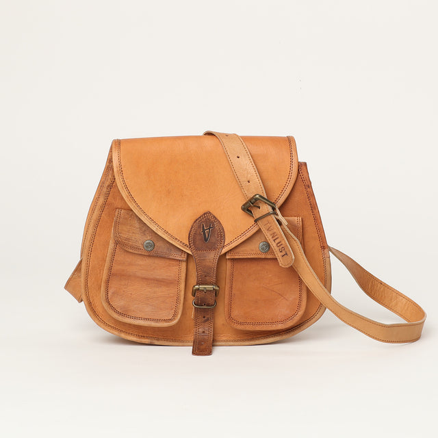 Cross Body bag extra large - leather bags