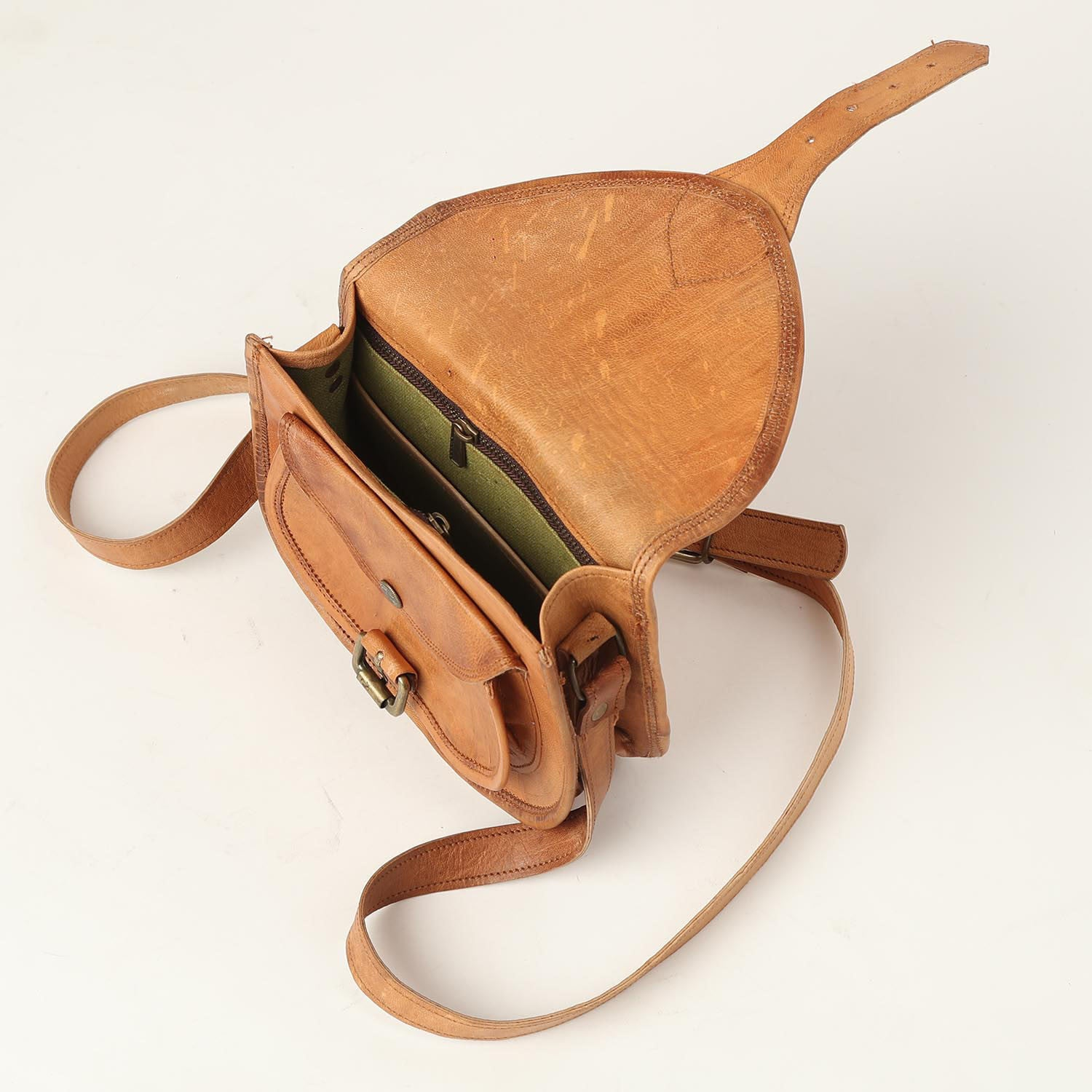 Cross body bag small - leather bags