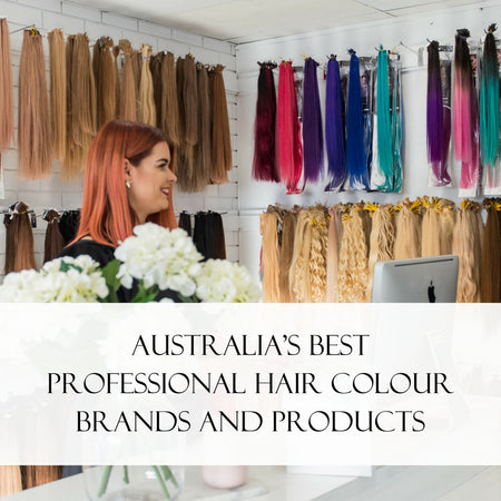 Australia's Best Professional Hair Colour Brands and Products