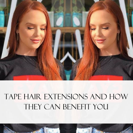 Tape Hair Extensions and How They Can Benefit You