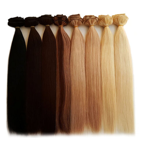 Kiki clip-in hair extensions are a popular temporary hair extensions method.