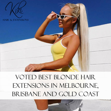 Voted Best Blonde Hair Extensions in Melbourne, Brisbane and Gold Coast