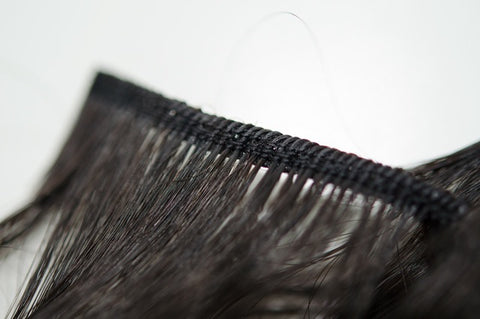 Human Hair Weft for Weaving and Beaded wefts Australia