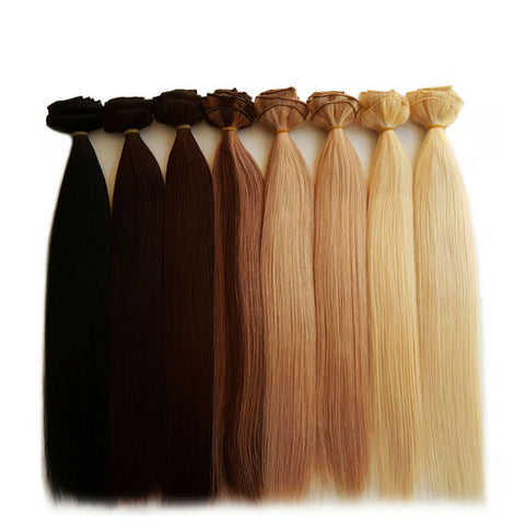 Clip-ins take only five minutes to apply and 30 seconds to take out