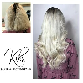 The Makoever Package is one of Kiki Hair's famous hair extensions packages.