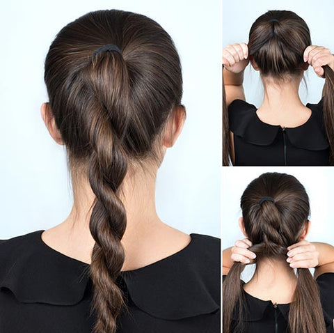 Rope Twist - Great hairstyles using hair extensions