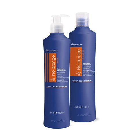 Fanola No Orange 350ML Shampoo & Mask - Kiki Hair Extensions