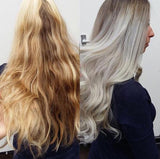 best purple toning shampoo for orange brassy toned hair and achieve white platinum blonde hair