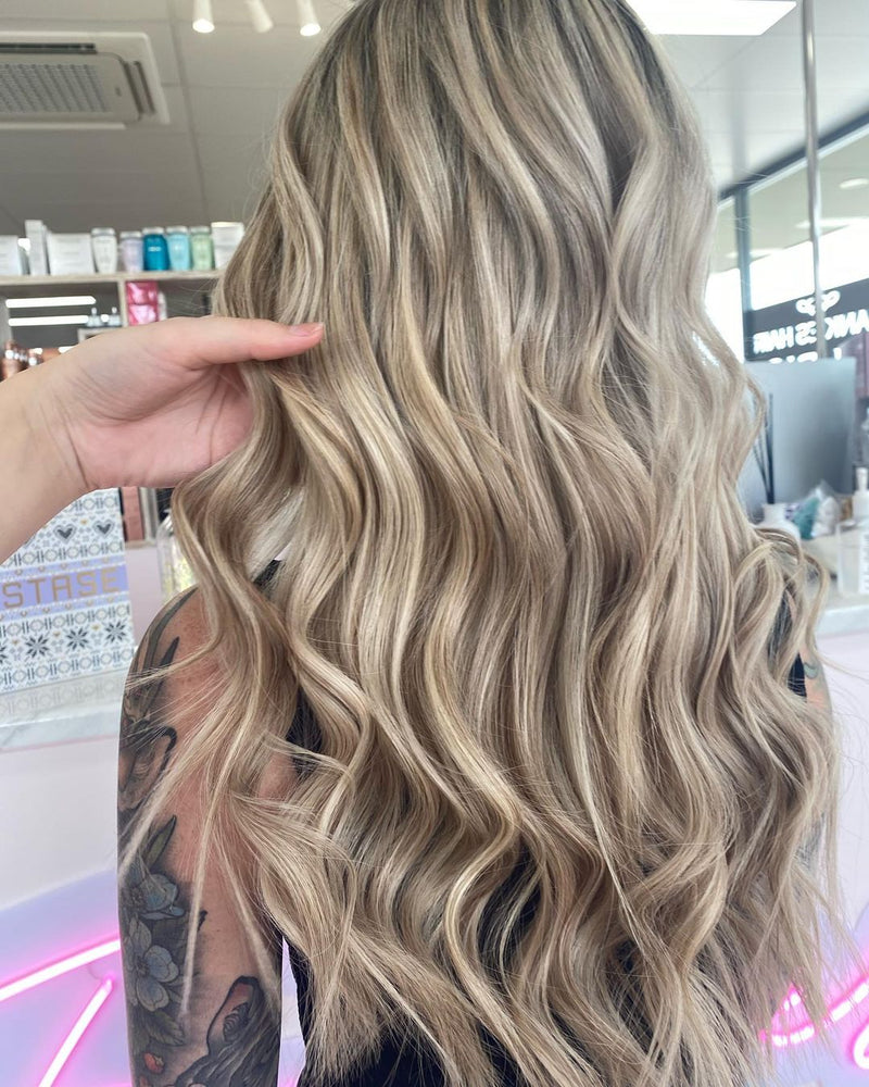 Caramel Swirl #12/613 Tape Hair Extensions