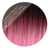 Darkest Brown - Cotton Candy Pink #1B-Cotton Candy Pink Kiki Clip-In Hair Extensions