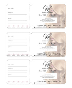 Kiki Hair Raffle Tickets Supporting: Feeding Dreams Cambodia