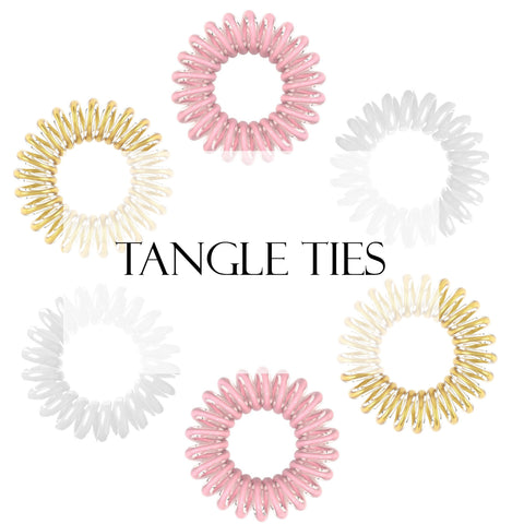 Tangle Ties - Kiki Hair Extensions