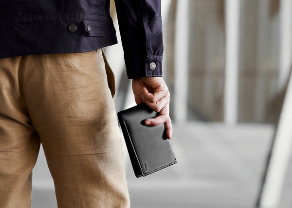 Bellroy Man with Travel Wallet
