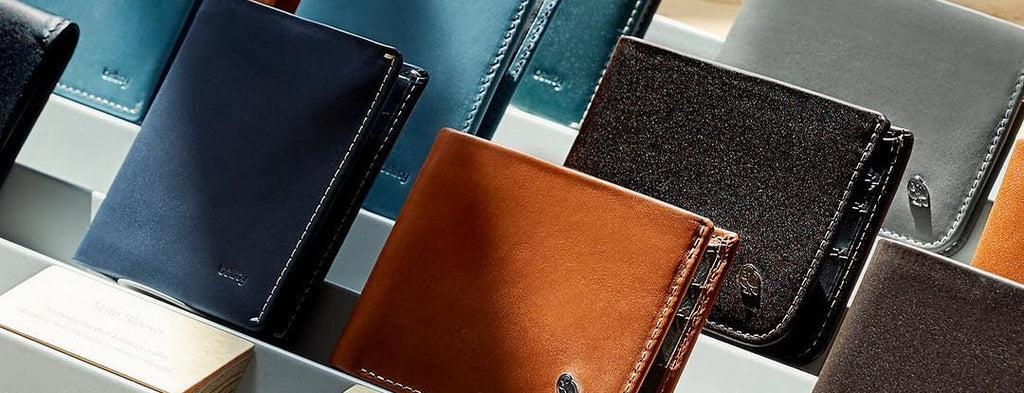 Collection of Bellroy Wallets