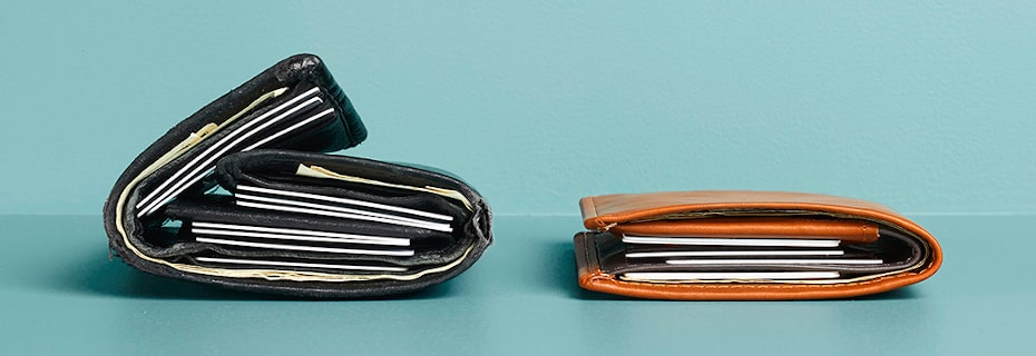 Big Wallets Slimmed down the right way