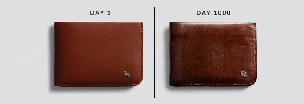 Leather Wallets - Getting Better with Age