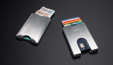 Walter Wallets Aluminium Smart Wallets