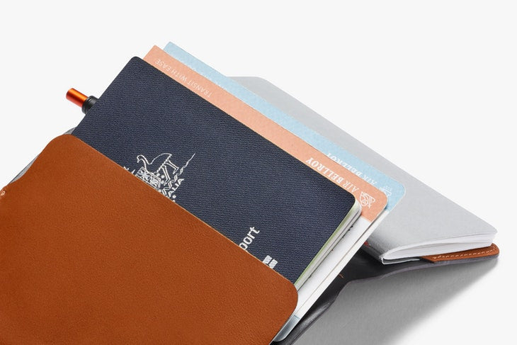 Bellroy Leather Notebook Cover & Pen