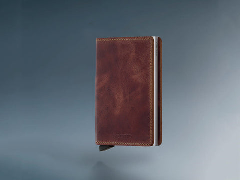 Secrid Slimwallet - Vintage Brown