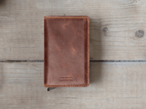 Secrid Slimwallet - Vintage Chocolate - Walletery