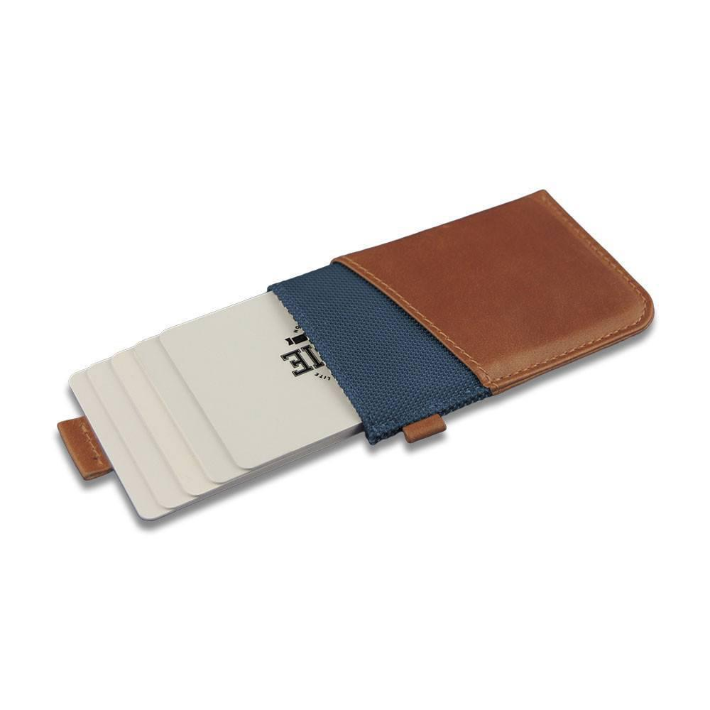 WOLYT™ Sleeve RFID - Cobalt/Brown
