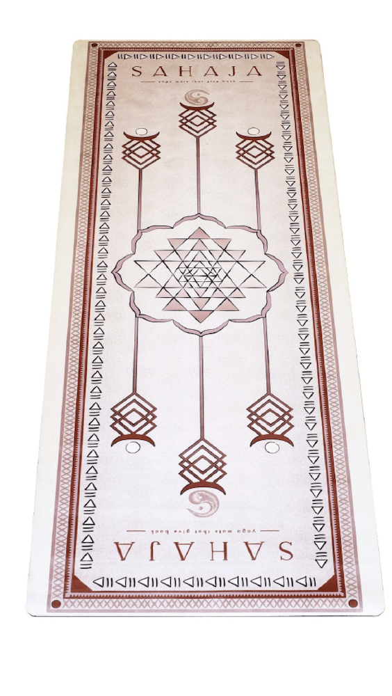 Sahaja Yoga Mats, yoga products that are eco-friendly and gives back with every purchase.