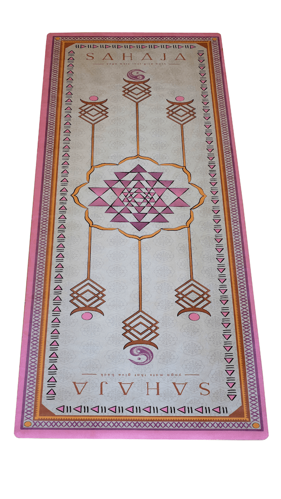 Sahaja Yoga Mats - Eco-friendly mats made from recycled materials that gives back.