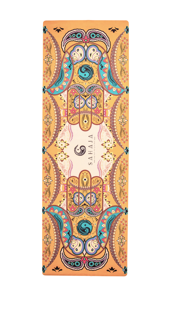 Orange TalaHridaya Travel Yoga Mats